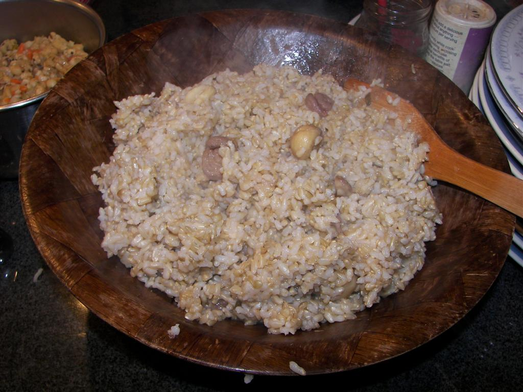 Rice with Chestnuts