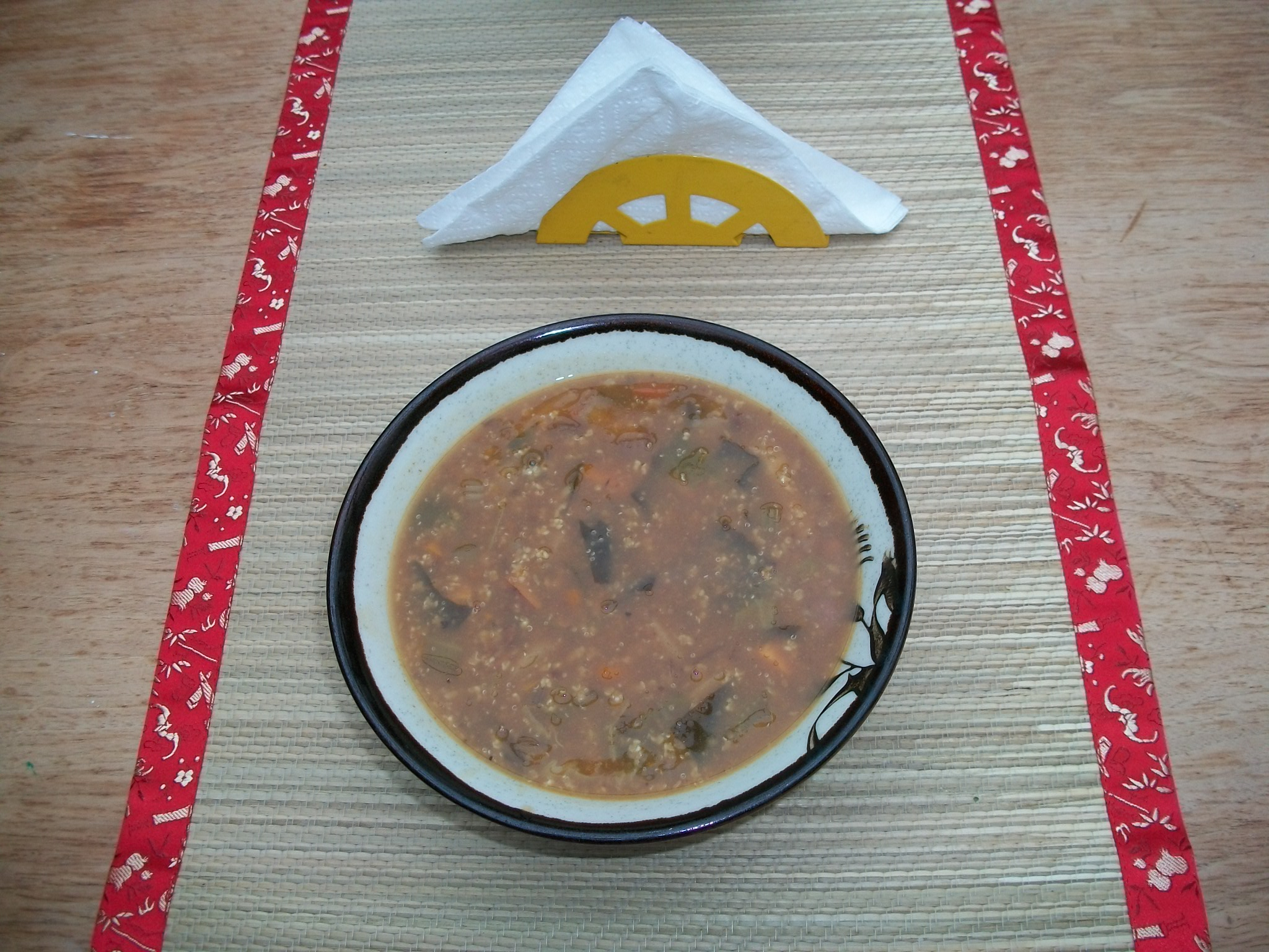 Millet and Sweet Soup